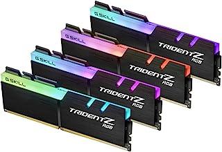 G.Skill Trident Z RGB 32GB DDR4 3200MHz módulo de - Memoria (32 GB, 4 x 8 GB, DDR4, 3200 MHz, Negro)