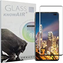 KNOWAIR Galaxy S10 Plus Screen Protector,Full Coverage Tempered Glass[2 Pack][3D Curved][Solution for Ultrasonic Fingerprint]Tempered Glass Screen Protector Suitable for Galaxy S10 Plus