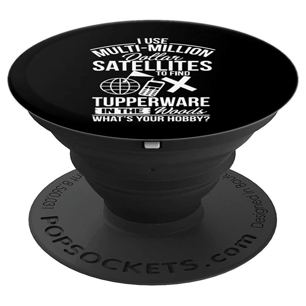 Find Tupperware In The Woods Geocache - PopSockets Grip and Stand for Phones and Tablets