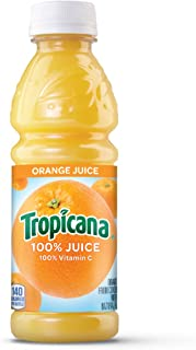 Tropicana Orange Juice, 10 Ounce (Pack of 24)