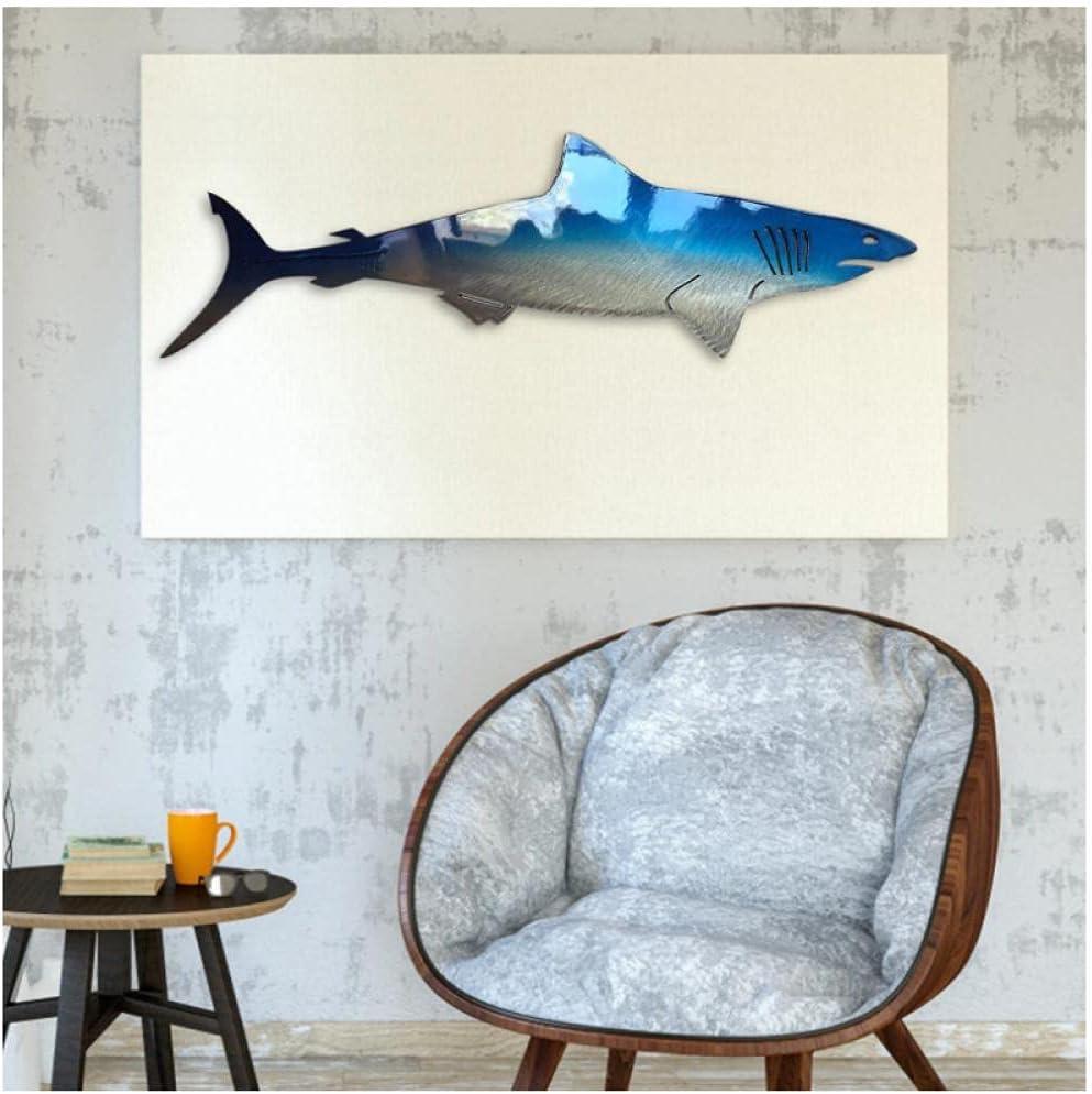 LMAGGG Nautical Sea Painting for Shark Canvas Nursery Super sale Popular Art Animal