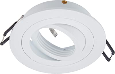 Depuley - Plafón LED regulable, 48 W, con mando a distancia ...