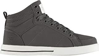 Official Lee Cooper Akron Hi Top Trainers Girls Shoes Footwear