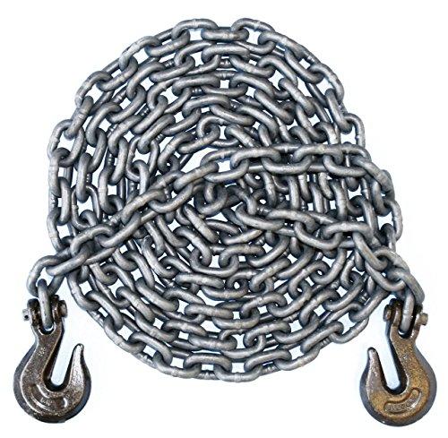 "3/8"" - Grade 100 Binder Chain - Grab Hooks - 20' Length"