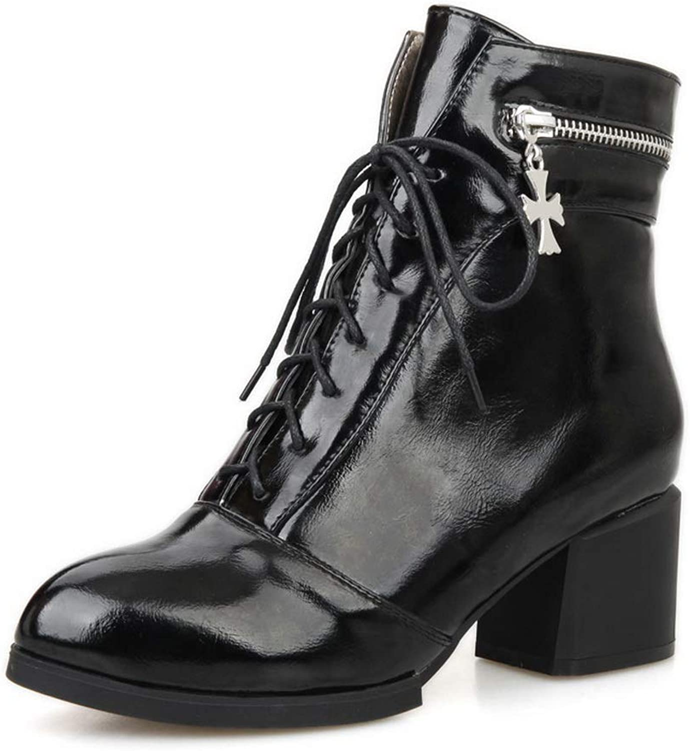 1TO9 Womens Fashion Solid Boots Urethane Boots MNS02822