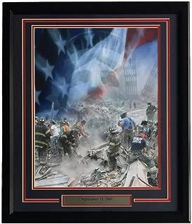 9/11 NYFD Ground Zero New York City September 11 2001 Framed 16x20 Collage Photo