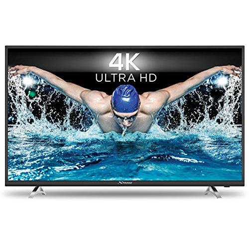 STRONG SRT 49UA6203 123 cm (49 Zoll) Ultra-HD-Smart-TV Fernseher (UHD, 4K, HDR, Triple Tuner, Hotelmodus, Netflix)schwarz