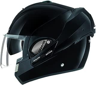 Shark HE9350DBLKXL Unisex-Adult Full Face Evoline 3 Uni Helmet (Black, X-Large)