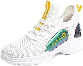 RAZAMAZA Women Fashion Mid Heel Sneaker Shoes