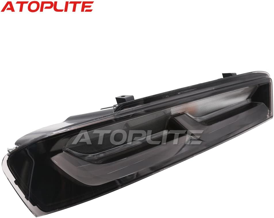 Darkened//Smoked Tail Light Package fits 2016-2018 Chevrolet Camaro LT//LS//RS//SS//ZL1 US Version Made By Atoplite