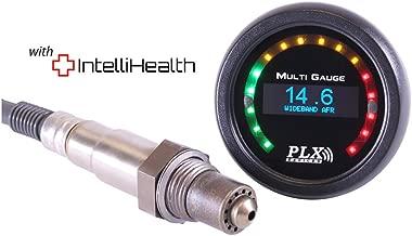 PLX Devices DM-6 SM-AFR Gen4 Gauge Combo UEGO AFR Air/fuel Ratio Bosch LSU 4.9 Wideband Oxygen Sensor Controller with 2 1/16