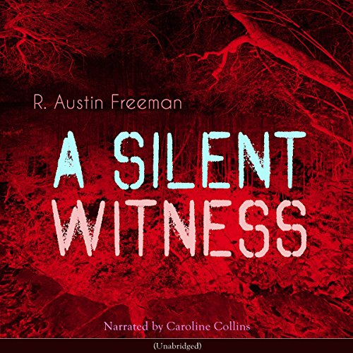A Silent Witness audiobook cover art
