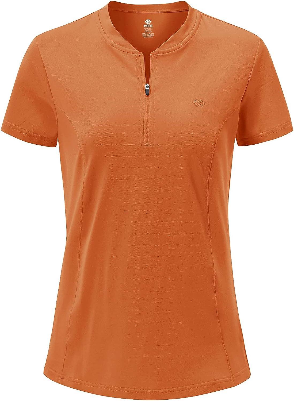 MoFiz Women's New color Golf Polo Long-awaited Shirt Athletic Sleeve Tops Short Tennis