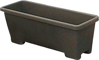 アイリスオーヤマ プランター 足付プランター 900 ダークブラウン 幅約90×奥行約34.5×高さ約29.8