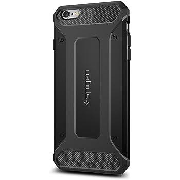 Spigen Coque iPhone 6s Plus, [Rugged Armor] Anti-Choc, Anti-Chute [Noir] Protection Renforcée, Coque pour iPhone 6 Plus / 6s Plus (SGP11643)