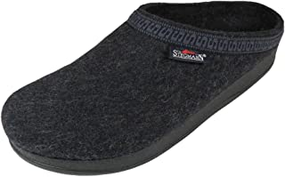 Men's Wool Clog with Poly Sole, Graphite