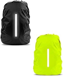 cubierta impermeable protector de lluvia de mochila,funda impermeable para mochila con Tira Reflectante,funda de lluvia de mochila,funda de mochila antipolvo,cubierta impermeable mochila