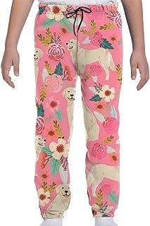 Pantalones de chándal para jóvenes Pantalones Deportivos para Correr o Ropa de salón, Pantalones de chándal Niedlicher Gol...