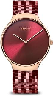 BERING Reloj Analógico Charity Collection para Mujer de Cuarzo con Correa en Acero Inoxidable y Cristal de Zafiro 13338-Ch...