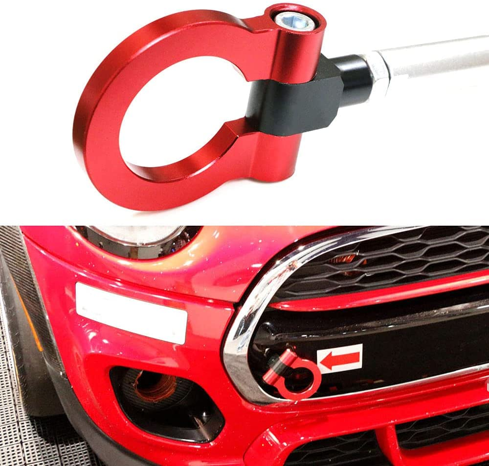 iJDMTOY Red Track Racing Style Tow With New products, world's highest quality popular! 3rd Recommended Hook Ring Compatible