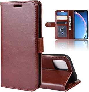 Protect Your Phone, R64 Texture Single Fold Horizontal Flip Leather Case for iPhone XIR 2019, with Holder & Card Slots & Wallet for Cellphone. (Color : Brown)