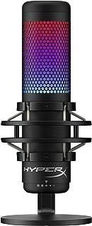 HyperX QuadCast S - RGB USB Micrófono Condensador para PC, PS4, Mac, Gaming, Streaming, Podcasts, Twitch, YouTube con Gall...