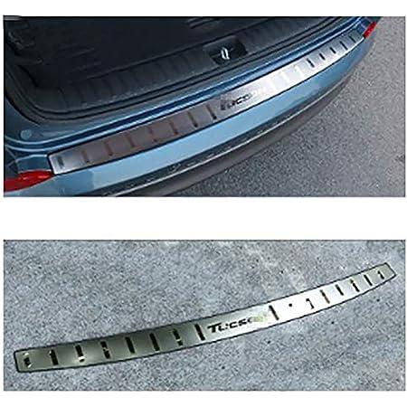 for KIA NIRO Car Trunk Protective Anti-Scratch Anti-Collision Rear Guard Bumper Protectorhid Scratches Car Styling Accessories Car Carbon Fiber Rear Bumper Protector
