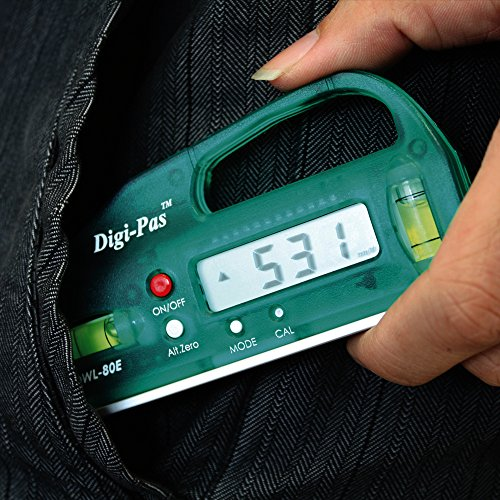 Digi-Pas『ポケットデジタル水平器(DWL-80E)』