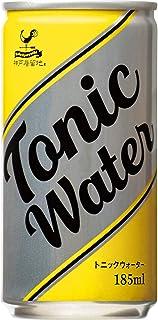 神戸居留地 トニックウォーター 缶 185ml ×30本 [ 強炭酸 割り材 人工甘味料 保存料 着色料不使用 ]
