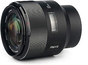 MEKE 85mm F1.8 Manual Focus Full Frame Large Aperture Standard Medium Portrait Lens with Electronic Aperture & EXIF Inform...