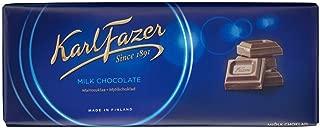 10 Bars x 200g of Karl Fazer Blue - Original - Finnish - Milk Chocolate