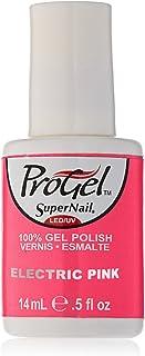 SuperNail ProGel Gel Polish - Electric Pink - 0.5oz/14ml