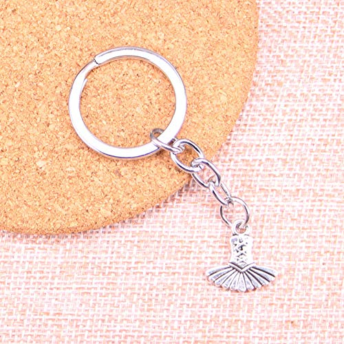 TAOZIAA balletjurk tutu ballerina bedeltje hanger sleutelhanger sleutelhanger ketting accessoires sieraden