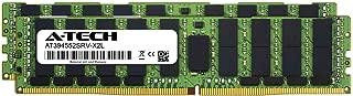 A-Tech 128GB Kit (2 x 64GB) for ASUS Z10PE-D16 WS - DDR4 PC4-21300 2666Mhz ECC Load Reduced LRDIMM 4rx4 - Server Memory Ram (AT394552SRV-X2L1)