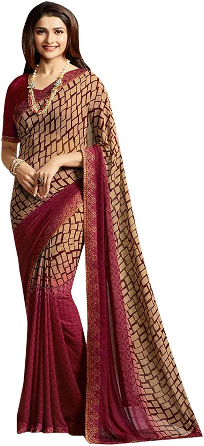 Bollywood Saree Sari Collection Blouse Wedding Party Wear Ceremony Women 666 10