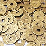 500 Pcs Feng Shui I-ching Coins Fortune Coin Dia:20mm (0.8') W Free Fengshui sale