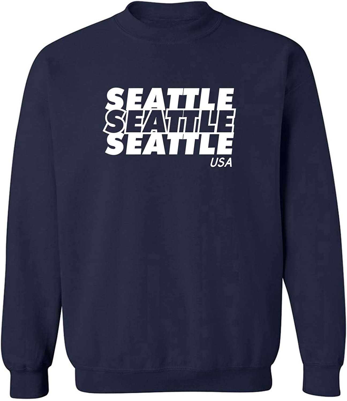 Seattle USA Crewneck Sweatshirt