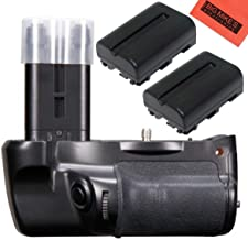 Battery Grip Kit for Sony Alpha SLT-A77, Alpha a77II DSLR Camera -Includes Qty 2 Replacement NP-FM500H Batteries + Vertical Battery Grip + More!!