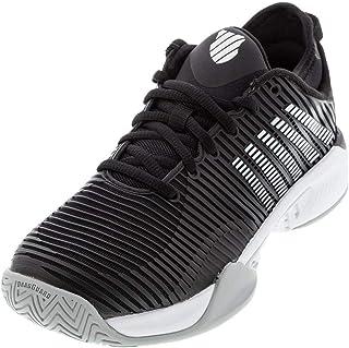 حذاء تنس حريمي Hypercourt Supreme من K-Swiss (أسود/أبيض/ارتفاع