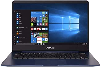 Asus ZenBook UX430UQ-GV166T Laptop - Intel Core i7-7500HQ, 14-Inch FHD, 512GB, 8GB, 2GB VGA-940MX, Eng-Arb-KB, Windows 10, Blue