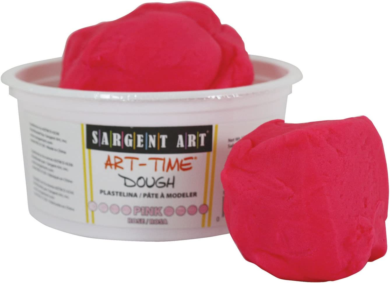Sargent Art 85-3129 1-Pound OFFicial Dough Pink Art-Time Tampa Mall