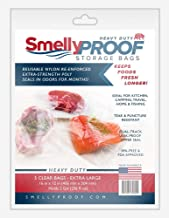 Smelly Proof Heavy Duty BEAR TESTED No Smell Bag, 12