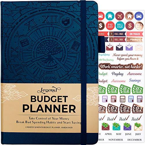 Planificador de presupuesto de leyenda