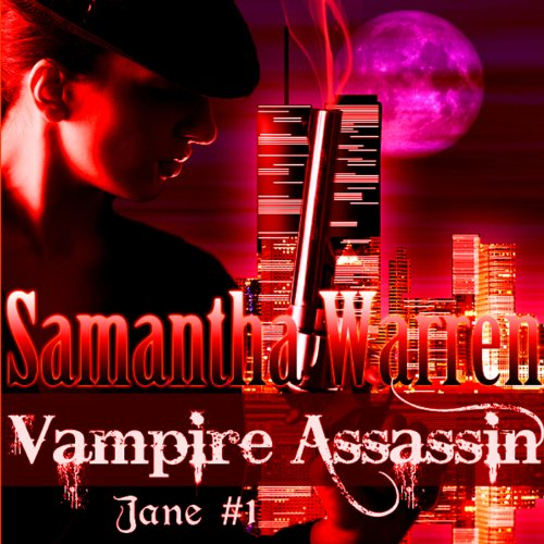 Vampire Assassin audiobook cover art