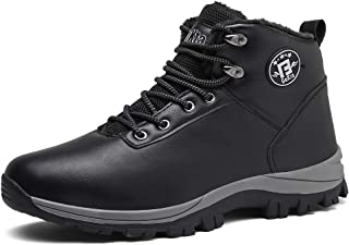 Wishliker Men's Women's Casual Walking Ankle Shoes Hiking Boot Waterproof Slip On