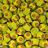 Reese's Miniature Peanut Butter Lover Cups, Milk Chocolate Peanut Butter Candy, With Yellow Foils, Bulk Pack Of 5 Pounds