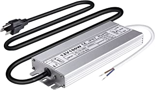 Idealy 100W DC 12V Ip67 Waterproof LED Power Supply Driver Transformer Adapter for Lighting Strip with outdoor