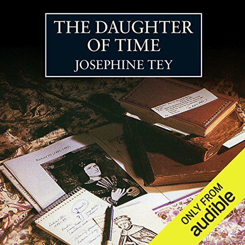 The Daughter of Time audiobook cover art