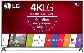 """TV LG LED 43"""" Uj6565 4K Ultra HD Smart Wi-Fi"""