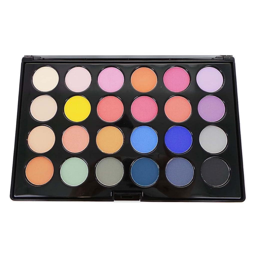 主導権はしごきちんとした(3 Pack) CITY COLOR Matte & Shimmer 24 Shade Shadow Palette - Carnival (並行輸入品)